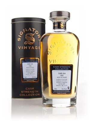 Caol Ila 30 Year Old 1982 (cask 6493) - (Cask Strength Collection) Signatory