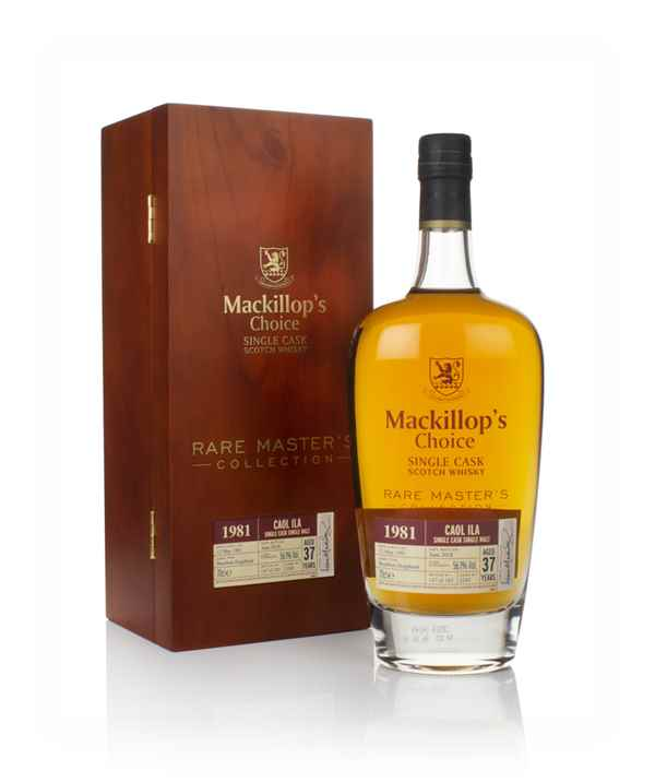 Caol Ila 37 Year Old 1981 (cask 3245) - Rare Master's Collection (Mackillop's Choice)