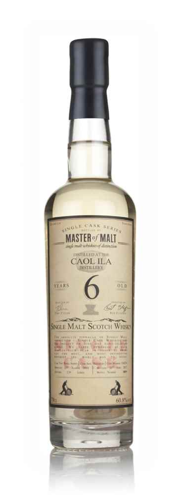 Caol Ila 6 Year Old 2010 - Single Cask (Master of Malt)