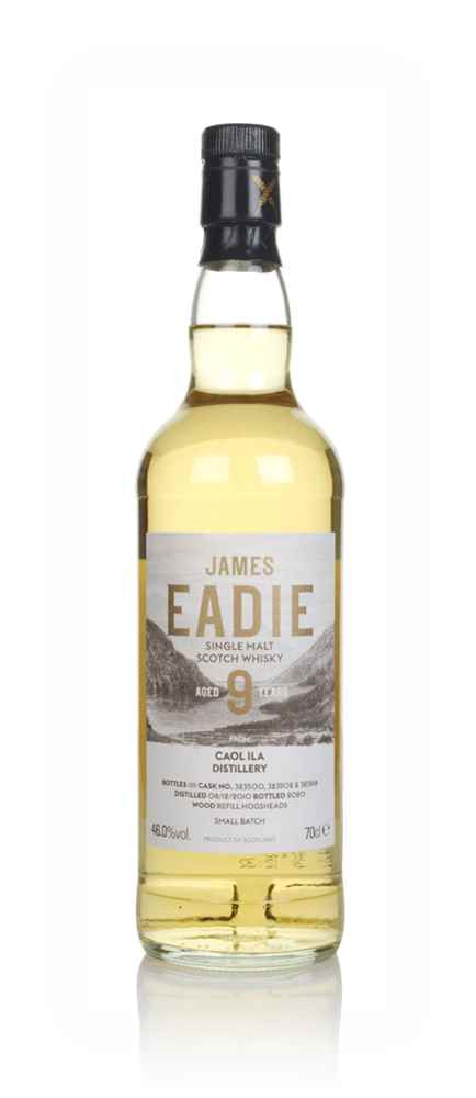 Caol Ila 9 Year Old 2010 (casks 323500, 323502 & 323518) - Small Batch (James Eadie)