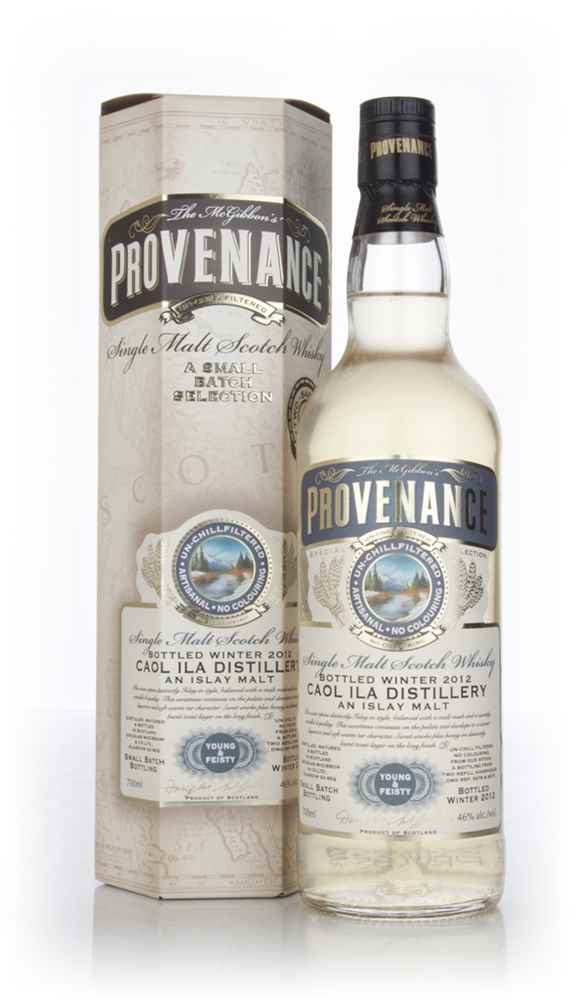 "Caol Ila ""Young & Feisty"" (casks 10178+10179) - Provenance (Douglas Laing)"
