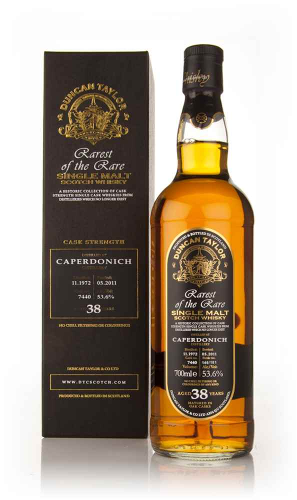 Caperdonich 38 Year Old 1972 - Rarest of the Rare (Duncan Taylor)