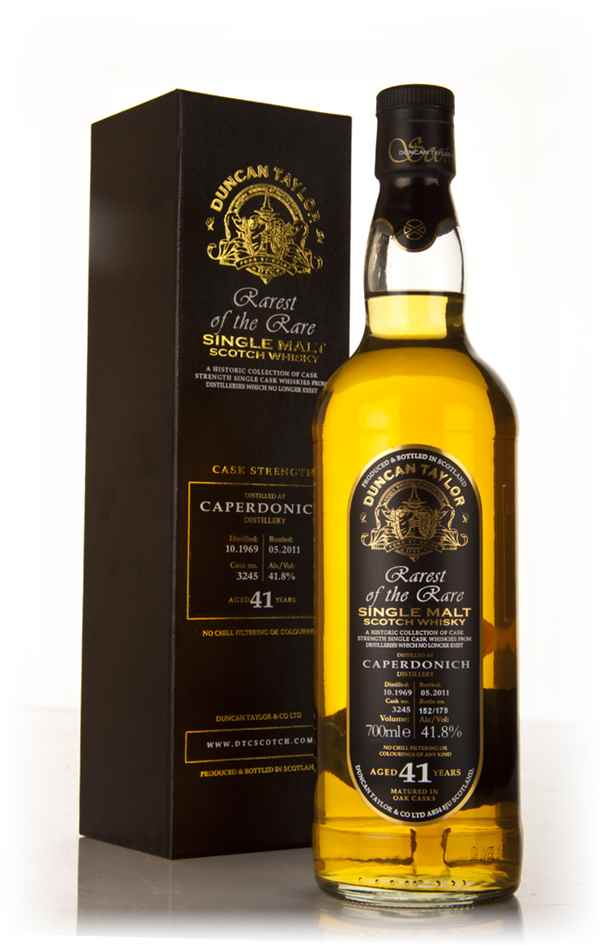 Caperdonich 41 Year Old 1969 Cask 3245 - Rarest of the Rare (Duncan Taylor)