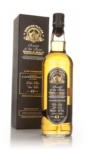 Caperdonich 41 Year Old 1969 Cask 3254 - Rarest of the Rare (Duncan Taylor)