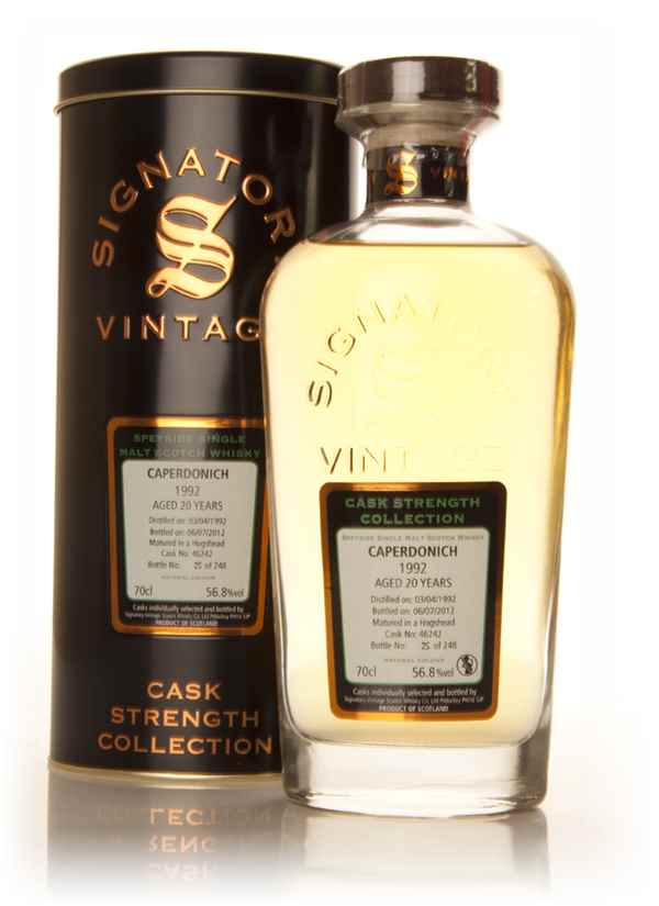 Caperdonich 20 Year Old 1992  - Cask Strength Collection (Signatory)