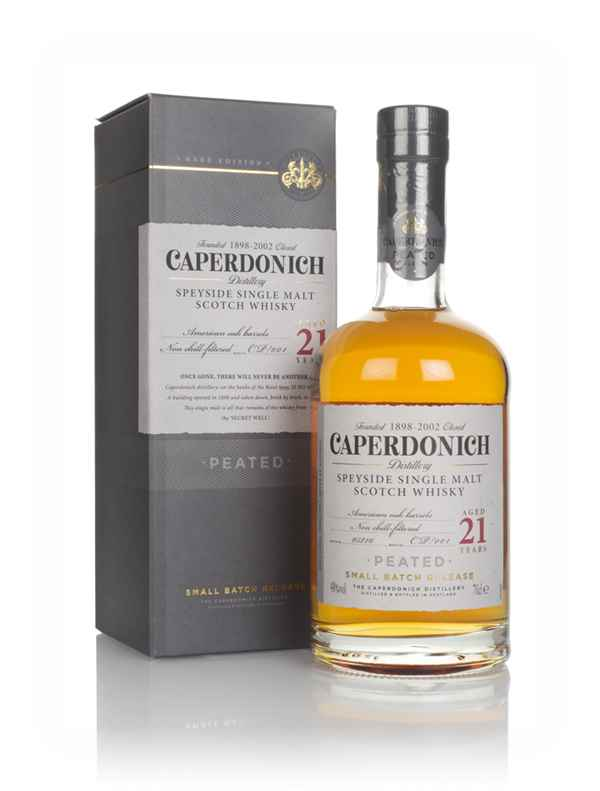 Caperdonich 21 Year Old Peated - Secret Speyside Collection