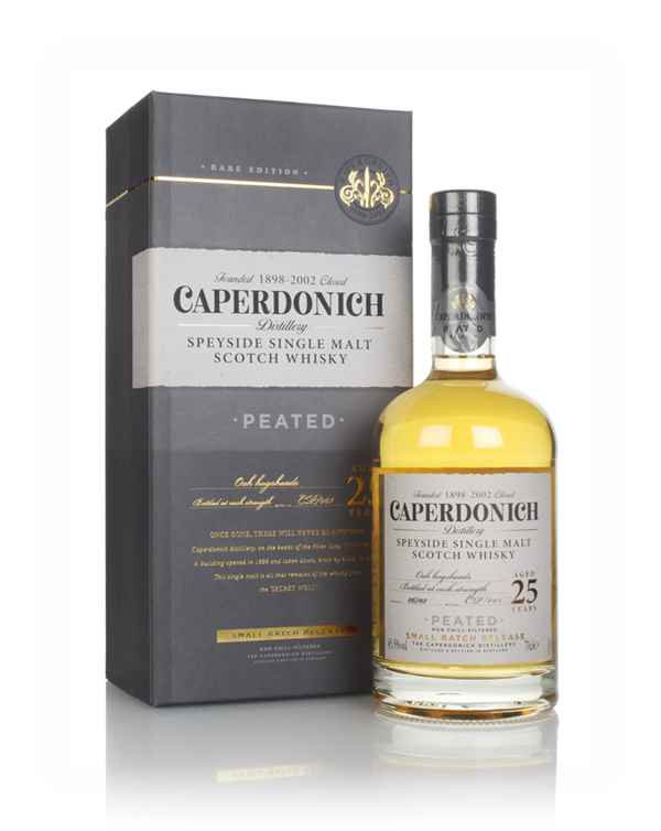 Caperdonich 25 Year Old Peated - Secret Speyside Collection