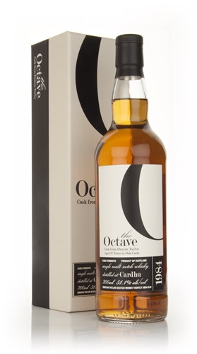 Cardhu 27 Year Old 1984 - The Octave (Duncan Taylor)