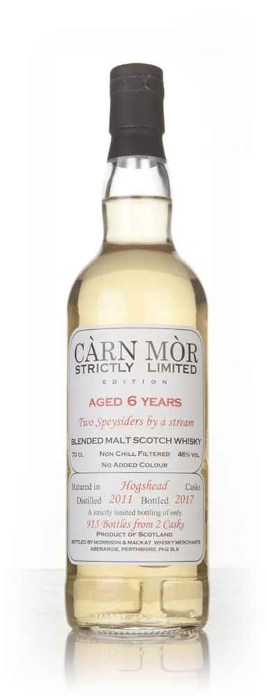 2 Speysiders by a Stream 6 Year Old 2011 -  Strictly Limited (Càrn Mòr)