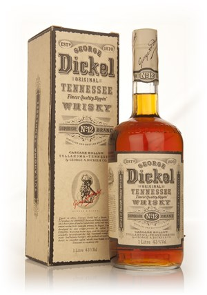 George Dickel Original Tennessee Whisky - 1980s