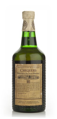 Chequers Blended Whisky - 1960s