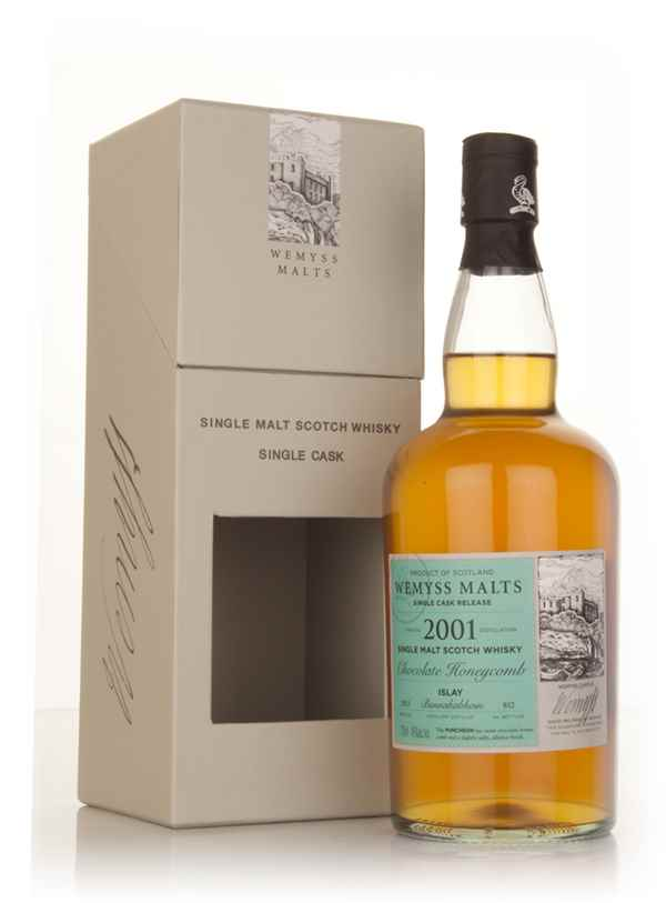 Chocolate Honeycomb 2001 - Wemyss Malts (Bunnahabhain)
