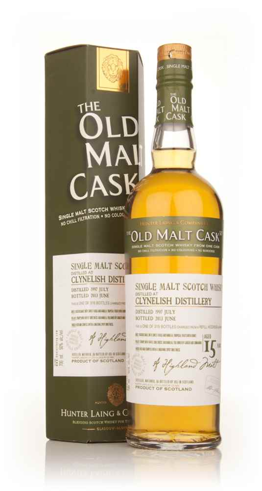 Clynelish 15 Year Old 1997 (cask 9881) - Old Malt Cask (Hunter Laing)