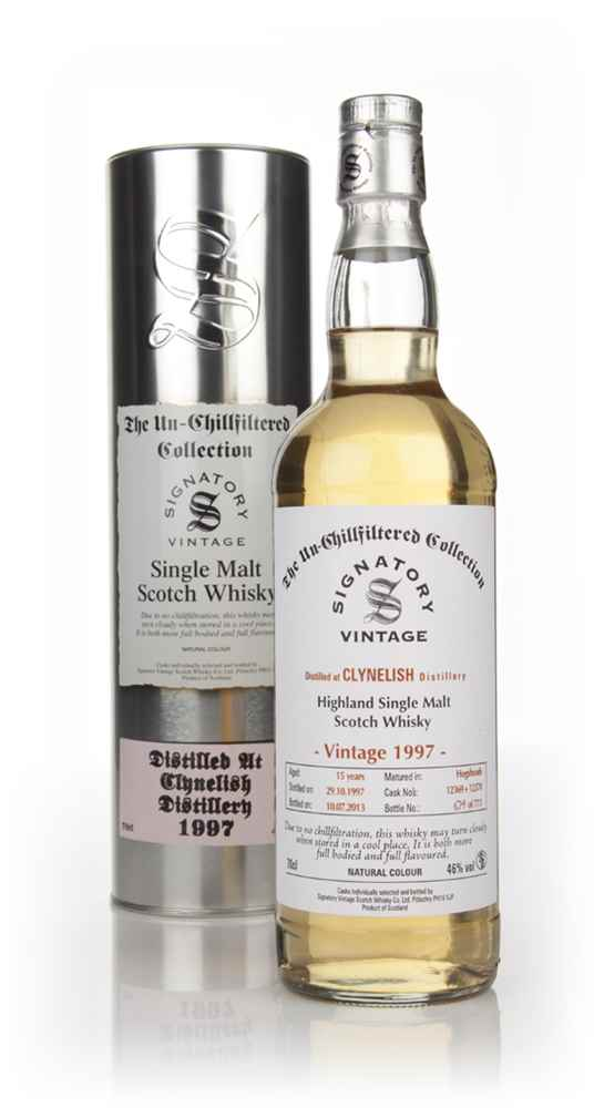 Clynelish 16 Year Old 1997 (casks 12371+12372) - Un-Chillfiltered (Signatory)