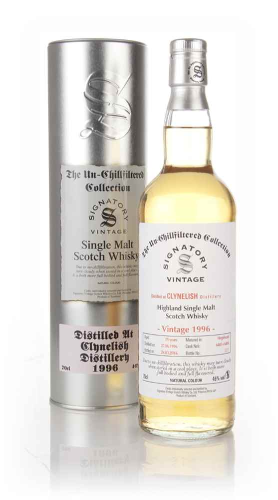 Clynelish 19 Year Old 1996 (cask 6403 + 6404) - Un-Chillfiltered (Signatory)