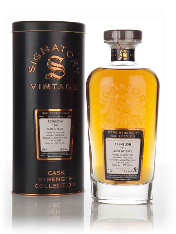 Clynelish 20 Year Old 1995 (cask 8687) - Cask Strength Collection (Signatory)