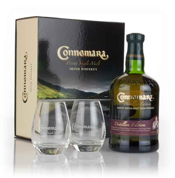 Connemara Distillers Edition with 2x Glasses