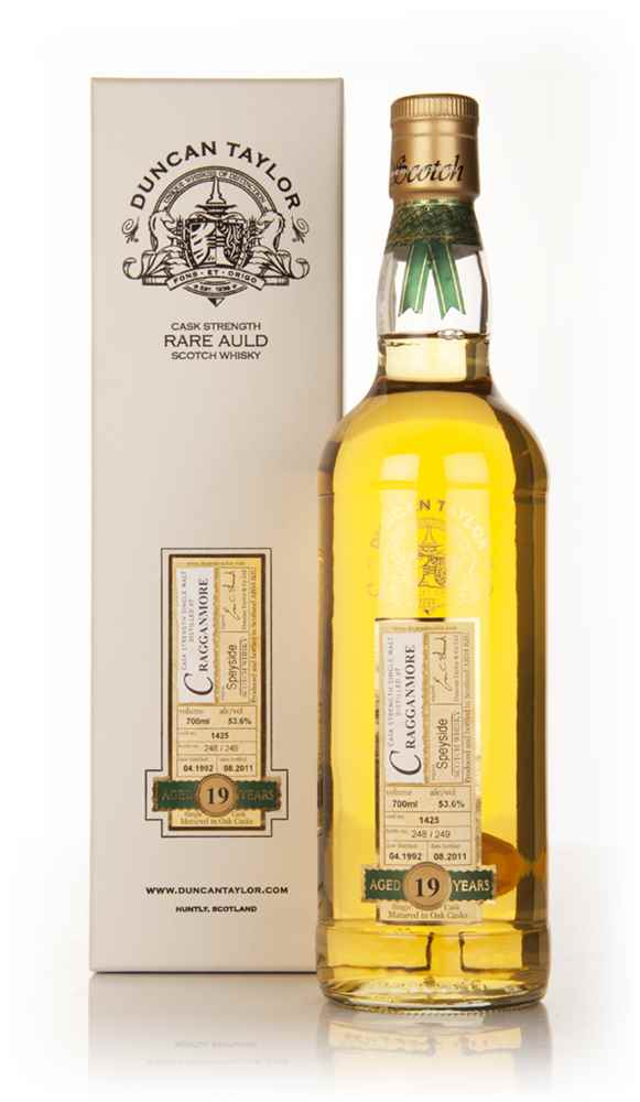 Cragganmore 19 Year Old 1992 - Rare Auld (Duncan Taylor)