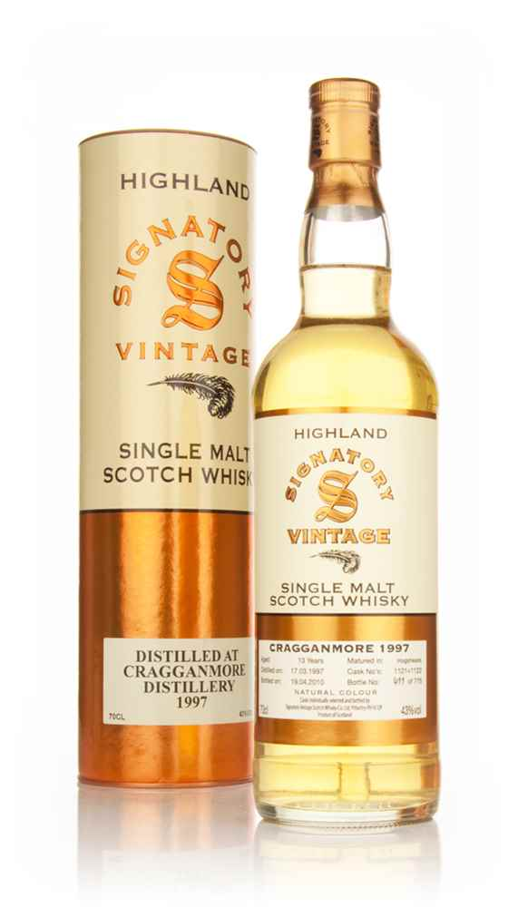 Cragganmore 13 Year Old 1997 (Signatory)