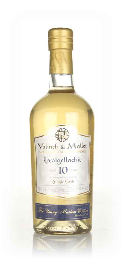 Craigellachie 10 Year Old - The Young Masters Edition (Valinch & Mallet)
