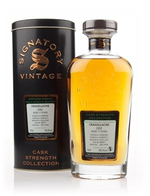 Craigellachie 11 Year Old 2002 (cask 900077) - Cask Strength Collection (Signatory)