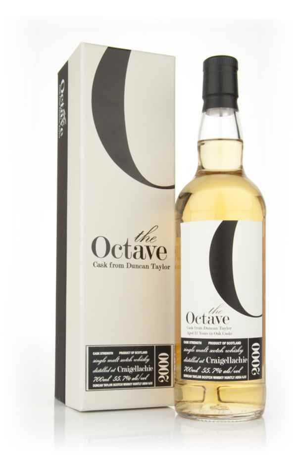 Craigellachie 12 Year Old 2000 - The Octave (Duncan Taylor)