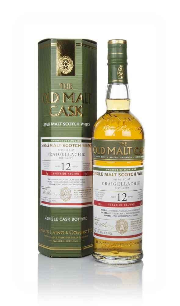 Craigellachie 12 Year Old 2006 (cask 6795) - Old Malt Cask (Hunter Laing)