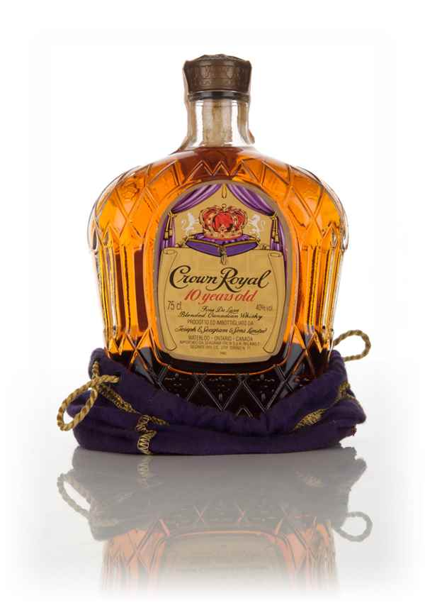 Crown Royal 10 Year Old - 1969