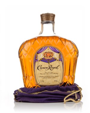 Crown Royal Canadian Whisky - 1979
