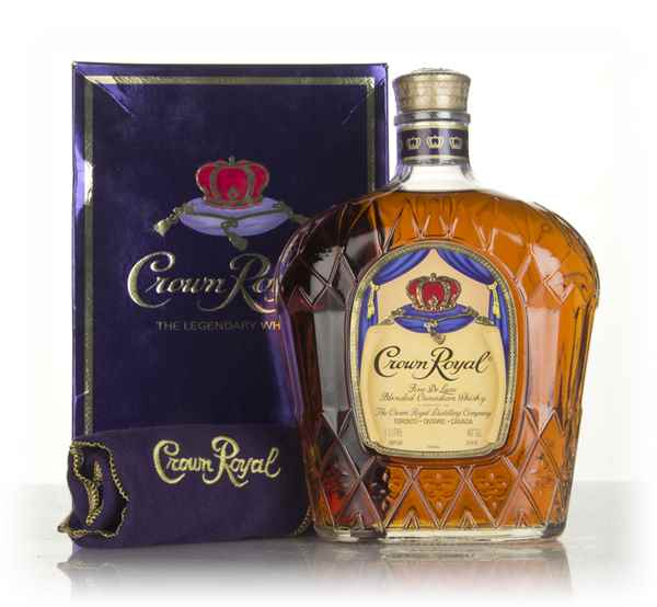Crown Royal Canadian Whisky (1L) - 1980s