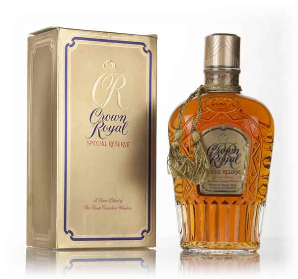 Crown Royal Special Reserve - 1980s