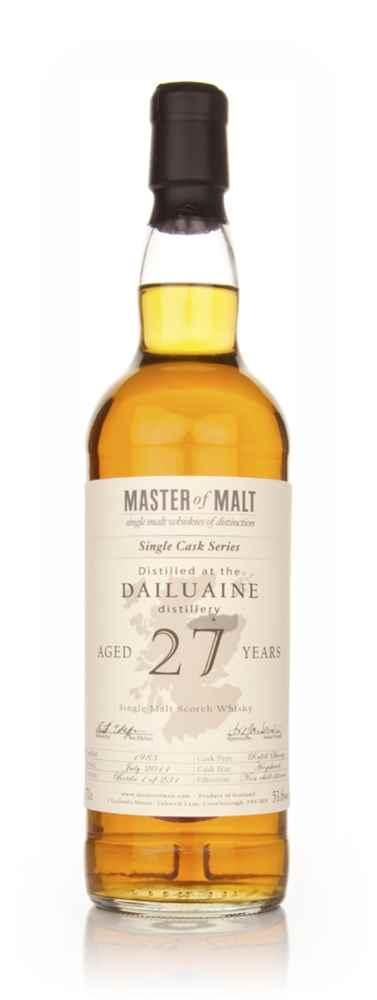 Dailuaine 27 Year Old 1983 – Single Cask (Master of Malt)