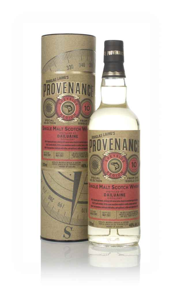 Dailuaine 10 Year Old 2007 (cask 11777) - Provenance (Douglas Laing)