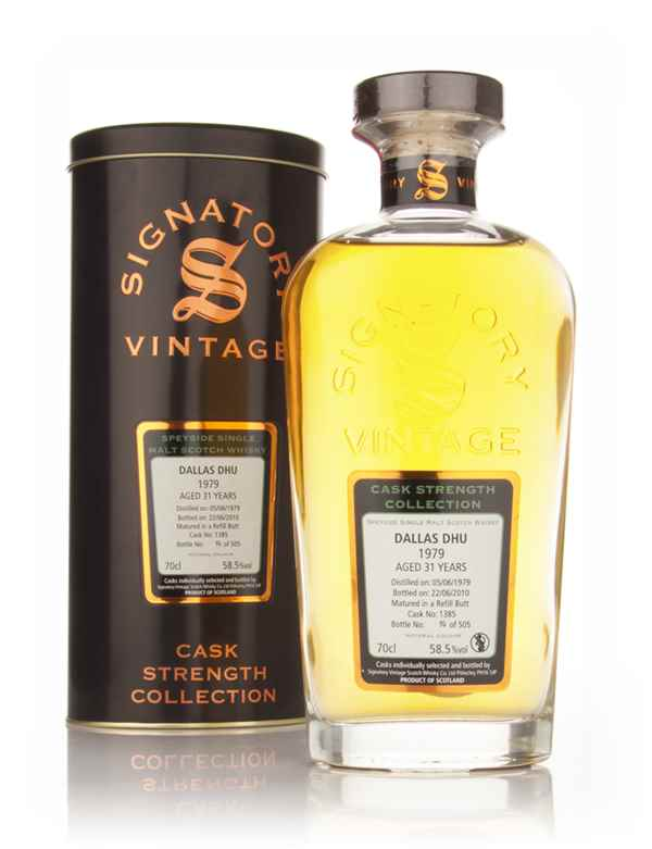 Dallas Dhu 30 Year Old 1980 - Cask Strength Collection (Signatory)