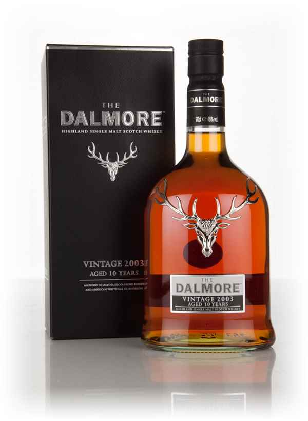 Dalmore 10 Year Old - Vintage 2003