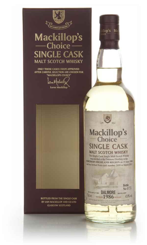Dalmore 25 Year Old 1986 (cask 3099) - Mackillop's Choice