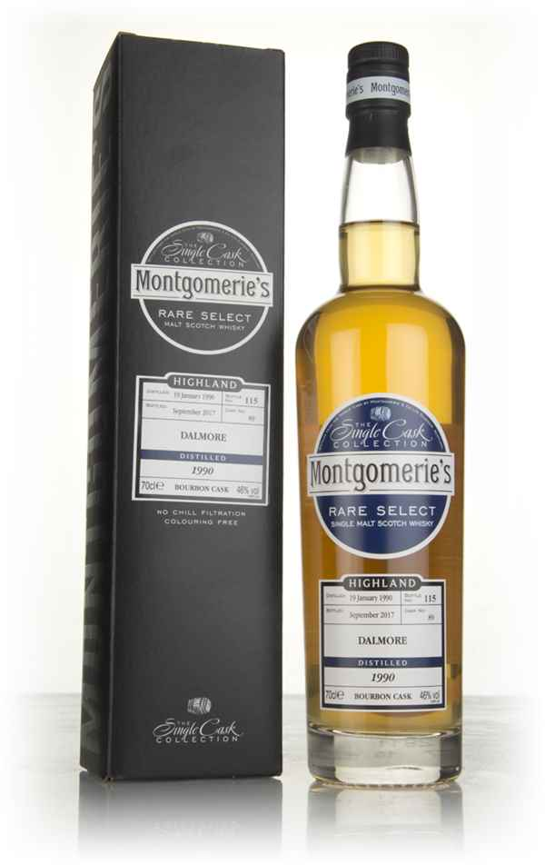 Dalmore 27 Year Old 1990 (cask 89) - Rare Select (Montgomerie's)