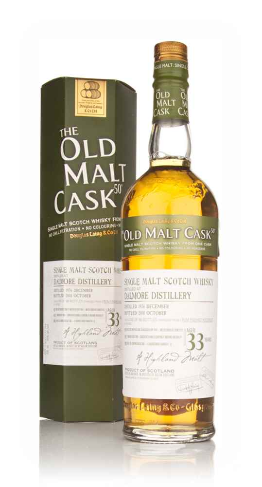 Dalmore 33 Year Old 1976 - Old Malt Cask (Douglas Laing)