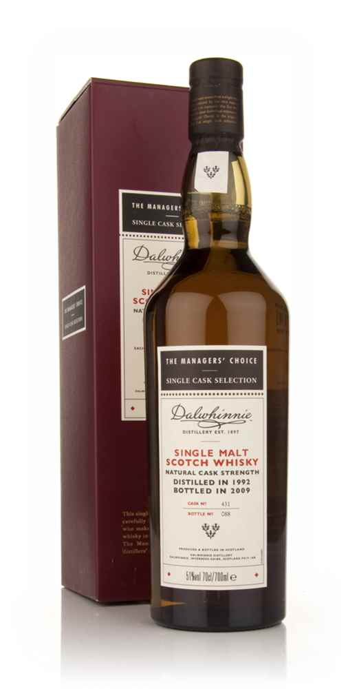 Dalwhinnie 1992 - Managers Choice