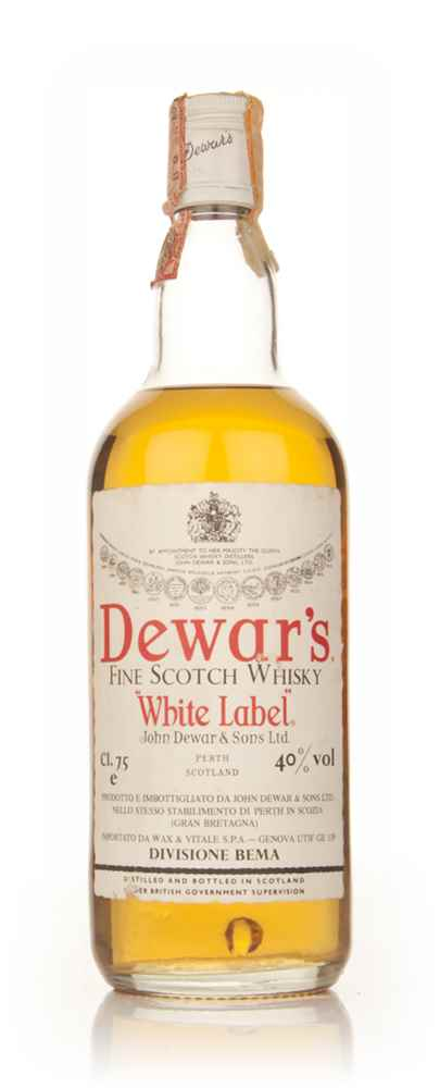 Dewar's Blended Scotch Whisky 75cl - 1970s
