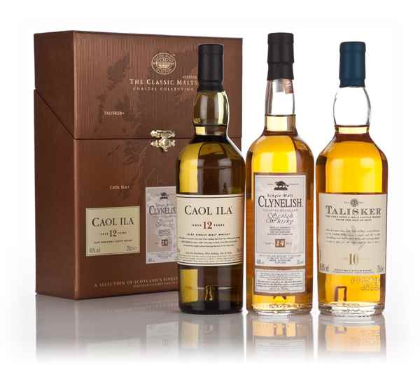 Classic Malts Collection - 'Coastal Collection' (3x20cl)