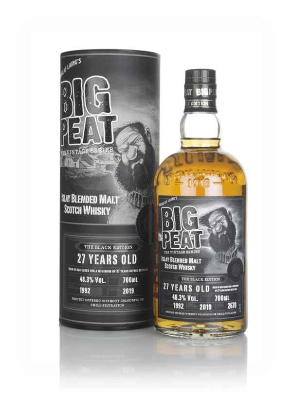 Big Peat 27 Years Old - The Black Edition