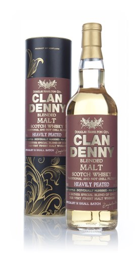 Heavily Peated Blended Malt - Clan Denny