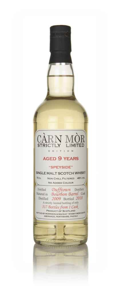 Dufftown 9 Year Old 2009 - Strictly Limited (Càrn Mòr)