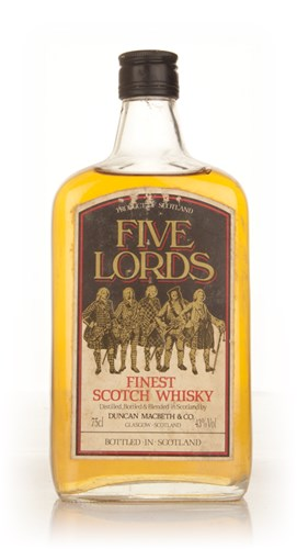 Five Lords Finest Scotch Whisky - 1970s