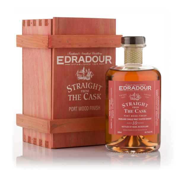 Edradour 10 Year Old 1997 Port Wood Finish - Straight from the Cask