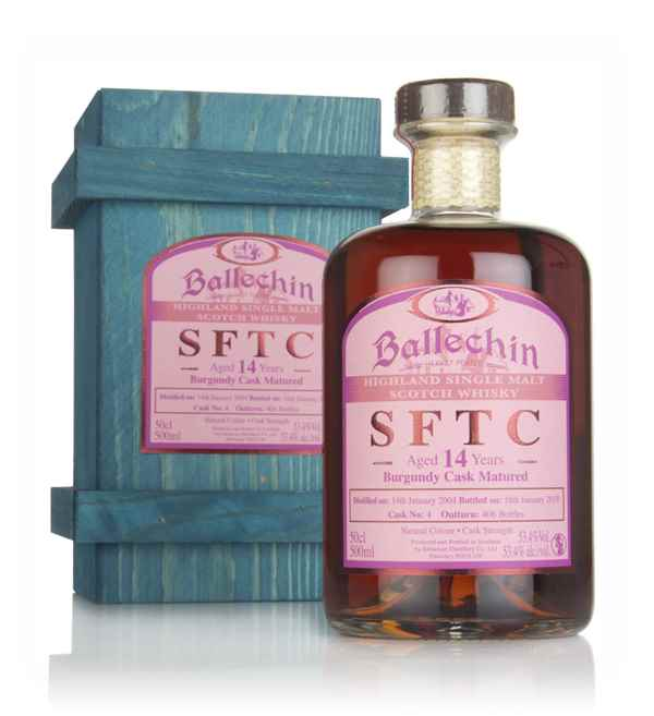 Ballechin 14 Year Old 2004 (cask 4) - Straight From The Cask