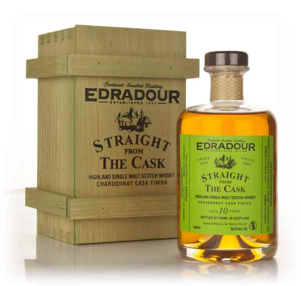Edradour 10 Year Old 2000 Chardonnay Cask Finish - Straight from the Cask