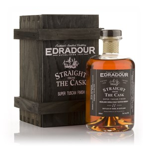 Edradour 11 Year Old 1996 Super Tuscan Cask Finish - Straight from the Cask