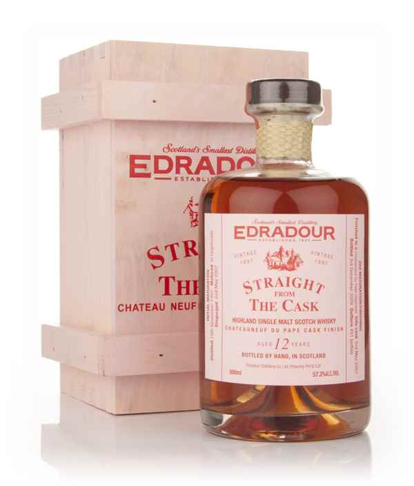 Edradour 11 Year Old 1997 Châteauneuf-du-Pape Cask Finish - Straight from the Cask
